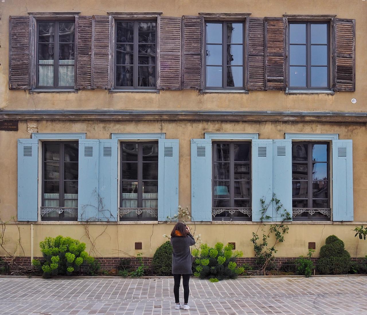 Week-end en Aube en Champagne - façades place Saint-Pierre à Troyes