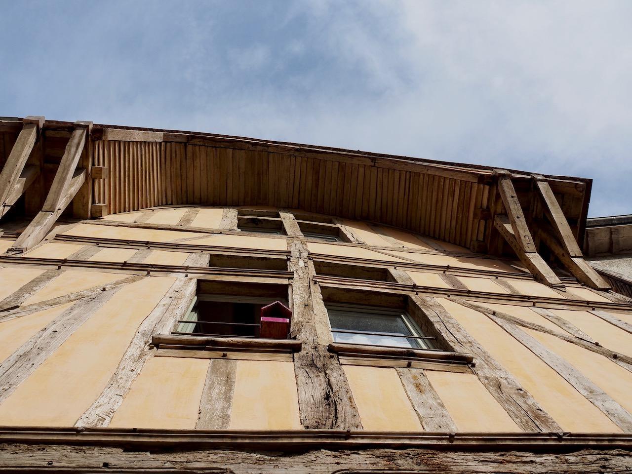 Week-end en Aube en Champagne - maison à pans de bois de Troyes