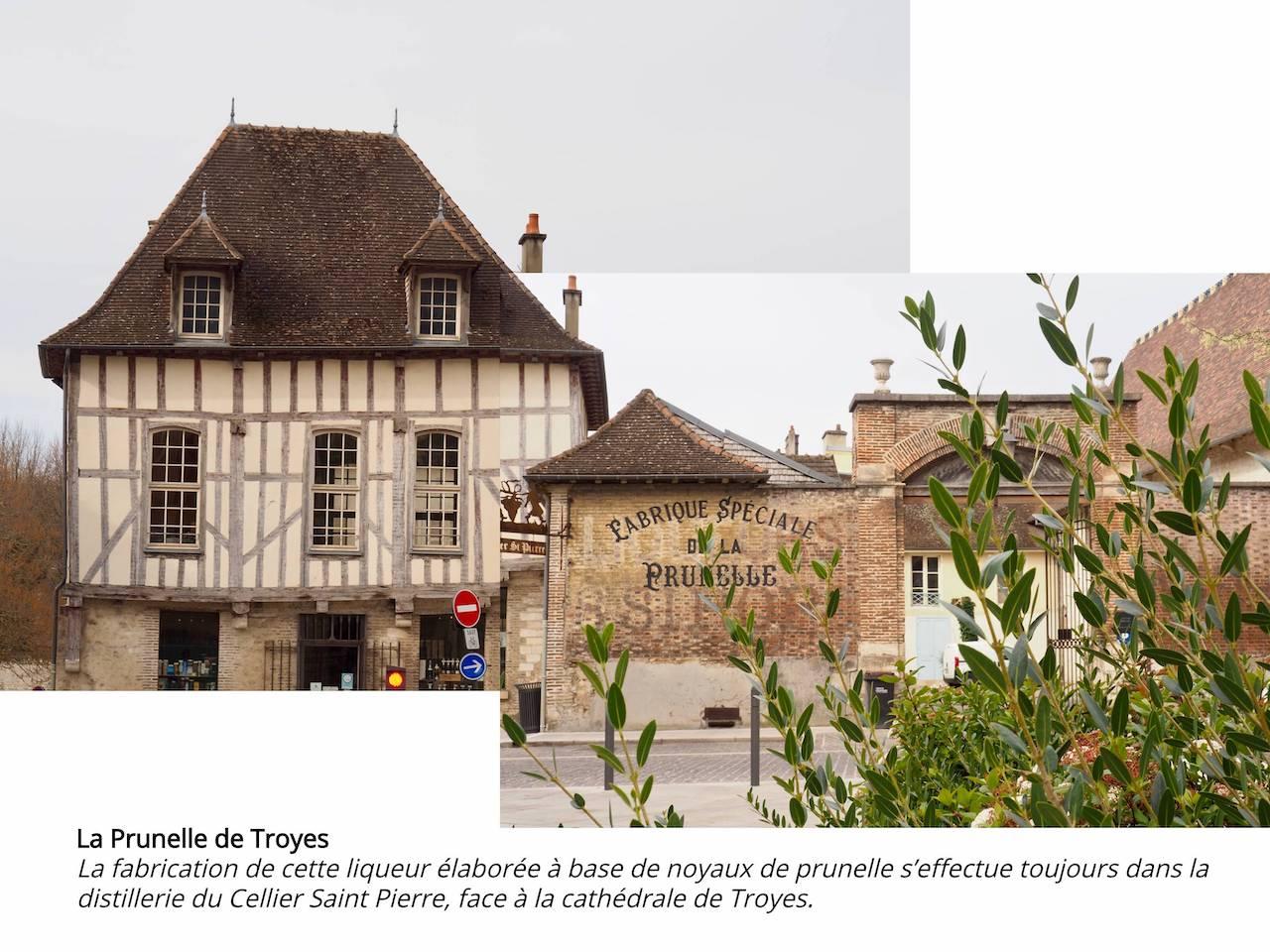 Week-end en Aube en Champagne - Troyes - La prunelle du Cellier Saint-Pierre